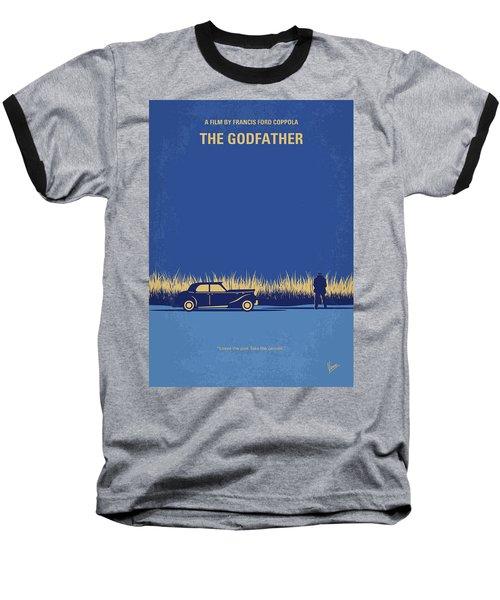 No686-1 My Godfather I Minimal Movie Poster Baseball T-Shirt