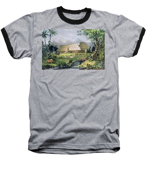 Noahs Ark Baseball T-Shirt by Currier and Ives