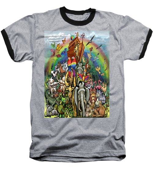 Noah's Ark Baseball T-Shirt