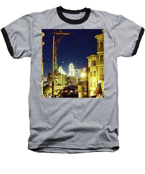 Nob Hill Electric Baseball T-Shirt