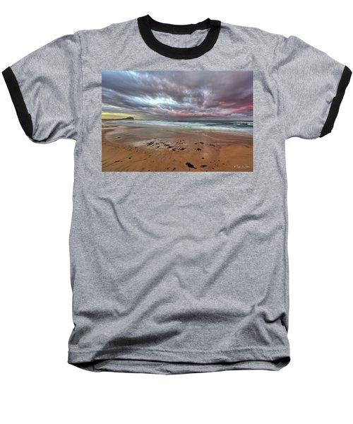 Nobbys Beach At Sunset Baseball T-Shirt