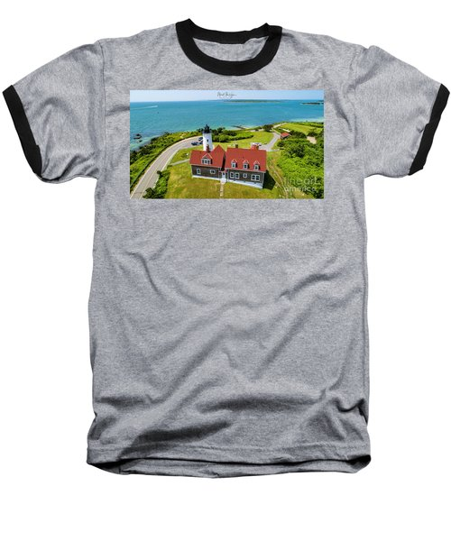 Nobska Light House  Baseball T-Shirt