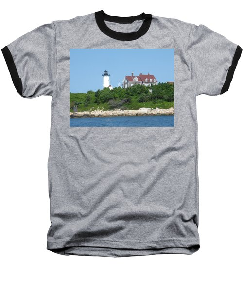 Nobska Point Lighthouse Baseball T-Shirt