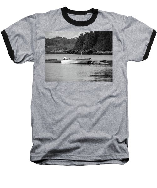 Noca Scotia In Black And White  Baseball T-Shirt by Trace Kittrell