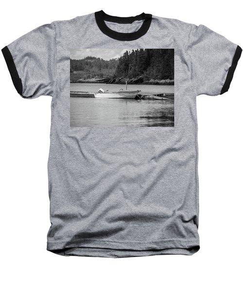 Noca Scotia In Black And White  Baseball T-Shirt