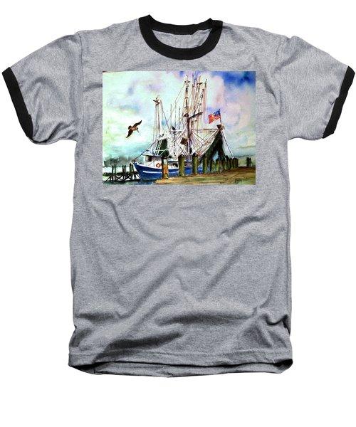 Nocho Boat Baseball T-Shirt