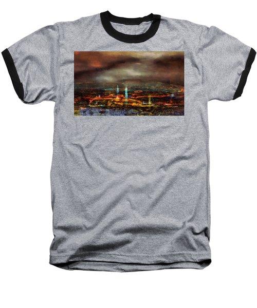 Nocturnal Impression Baseball T-Shirt