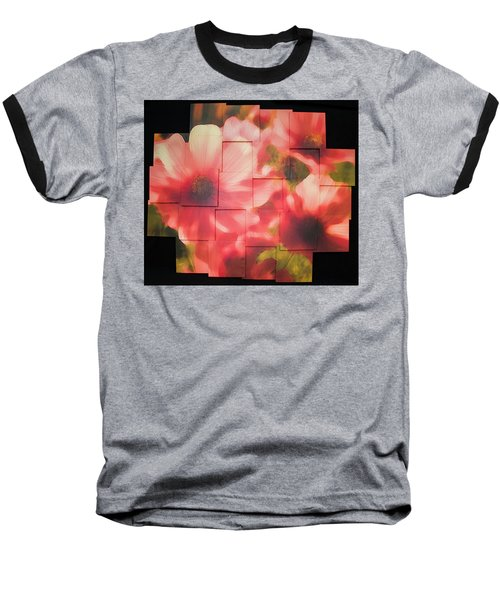 Nocturnal Pinks Photo Sculpture Baseball T-Shirt