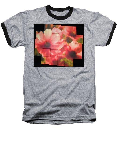 Nocturnal Pinks Photo Sculpture Baseball T-Shirt