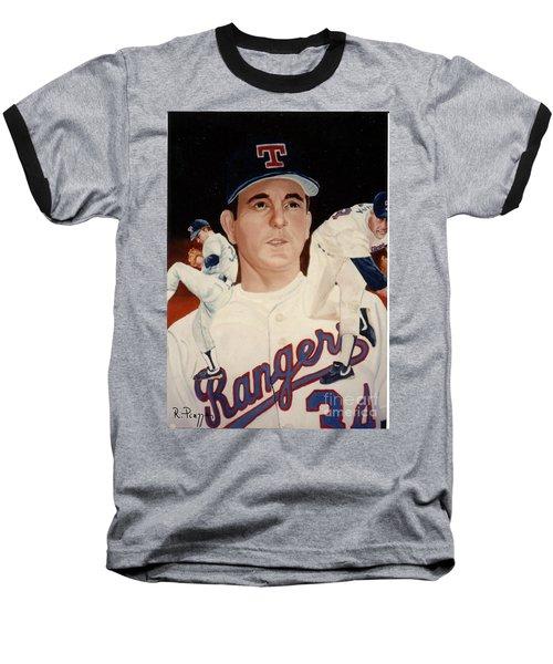 Nolan Ryan Medley Baseball T-Shirt