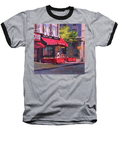 Noon Refreshments Baseball T-Shirt