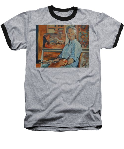 Nop Briex Self Portrait Baseball T-Shirt