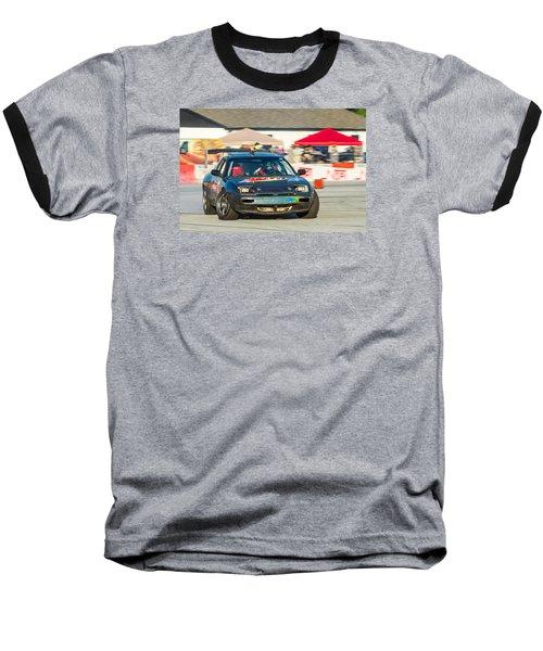 Baseball T-Shirt featuring the photograph Nopi Drift 1 by Michael Sussman