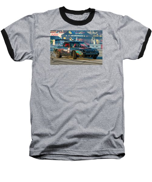 Nopi Drift 2 Baseball T-Shirt by Michael Sussman
