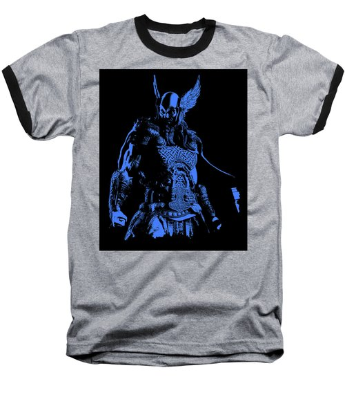 Nordic Warrior Baseball T-Shirt