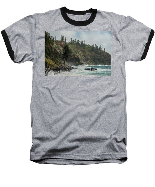 Baseball T-Shirt featuring the photograph Norfolk Island Coastline 01 by Werner Padarin