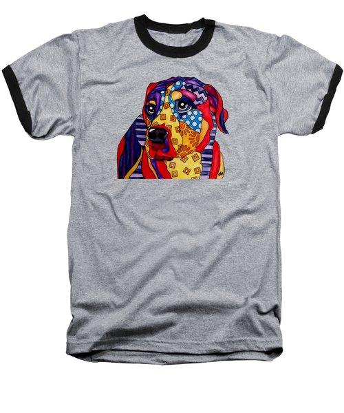Norman  Dog Baseball T-Shirt