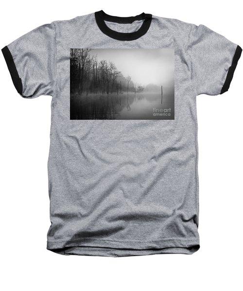Norris Lake April 2015 3 Baseball T-Shirt by Douglas Stucky