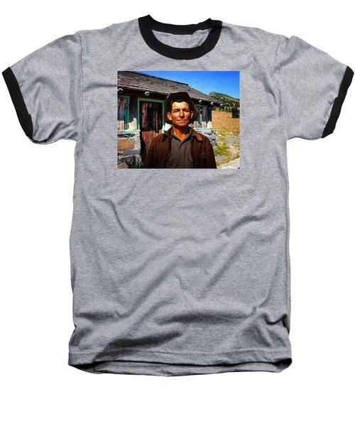 Norris' New Digs Baseball T-Shirt by Timothy Bulone