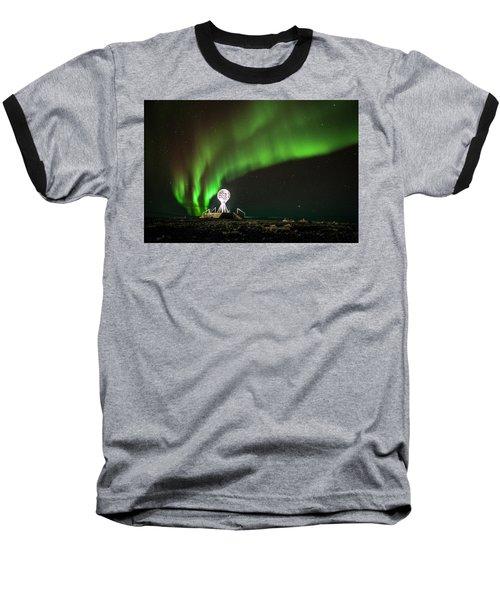Norrsken Baseball T-Shirt by Thomas M Pikolin
