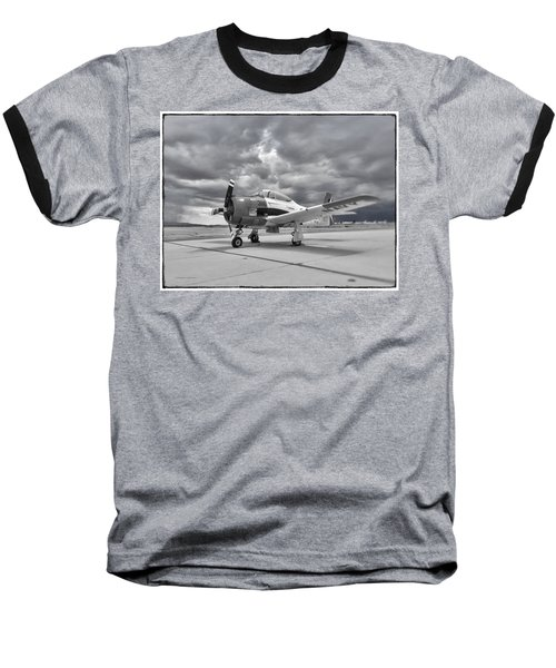 North American T-28 Baseball T-Shirt