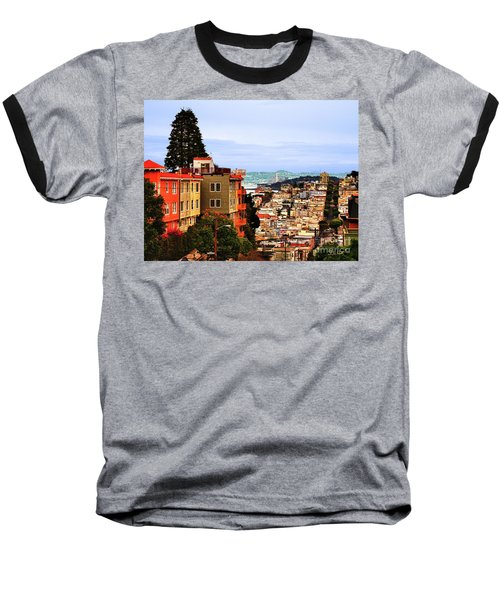 Looking Toward North Beach Baseball T-Shirt