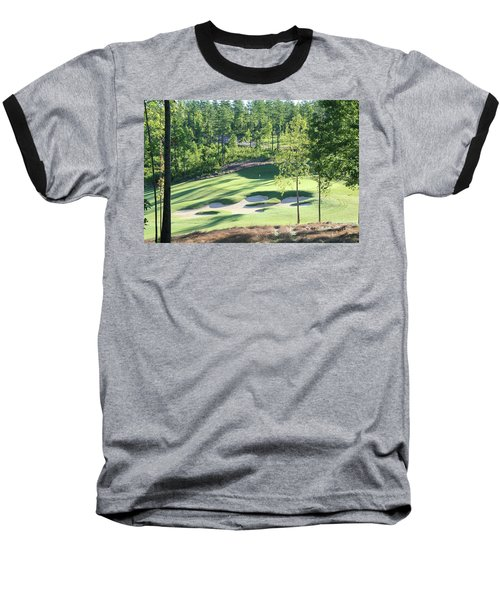 North Carolina Golf Course 12th Hole Baseball T-Shirt