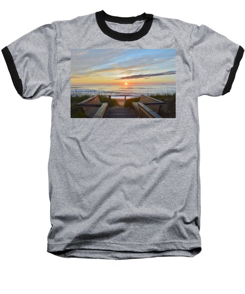 North Carolina Sunrise Baseball T-Shirt