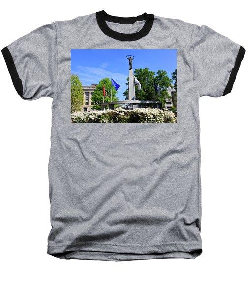 North Carolina Veterans Monument Baseball T-Shirt