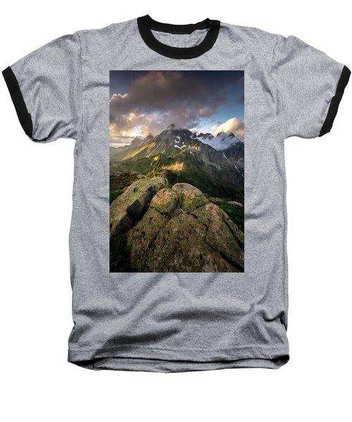 North Cascades National Park Baseball T-Shirt