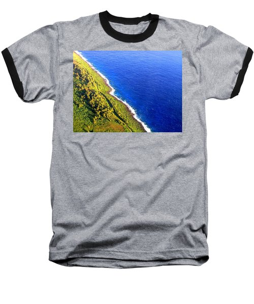 North Coast Of Tinian At Sunrise Baseball T-Shirt