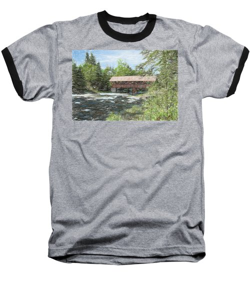 North Country Bridge Baseball T-Shirt by John Selmer Sr