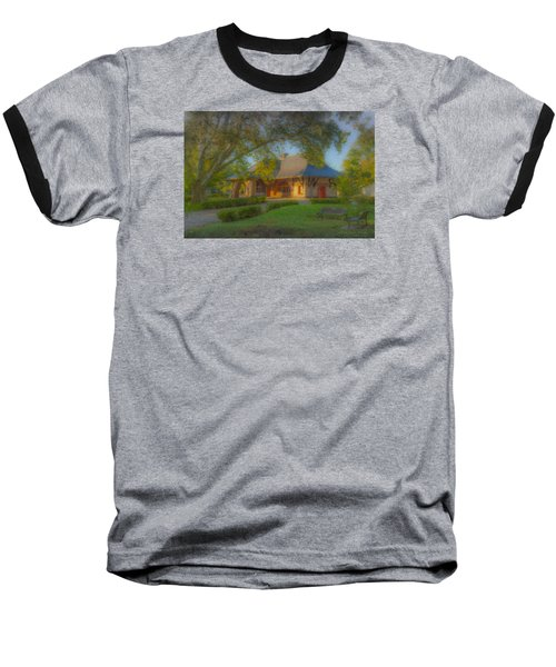 North Easton Train Station Baseball T-Shirt