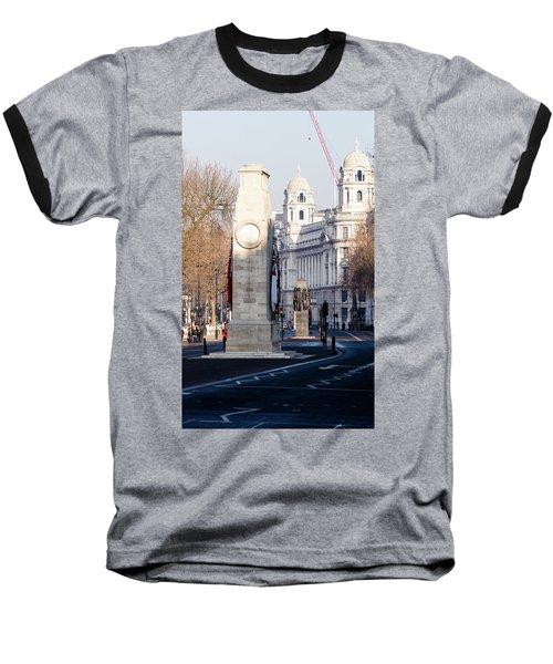 North Facade Of Cenotaph War Memorial Whitehall London Baseball T-Shirt
