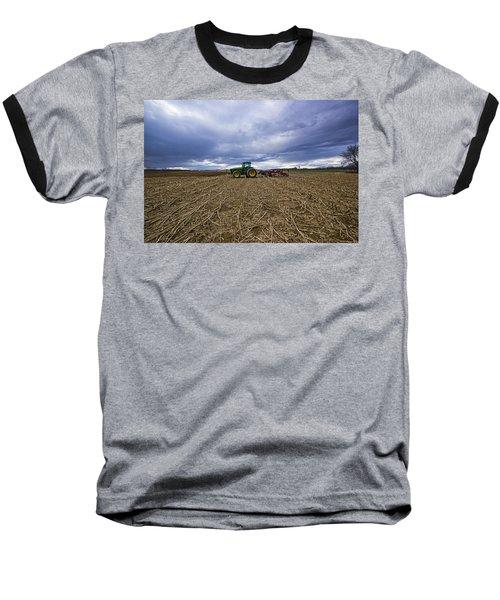 North Fork Tractor Baseball T-Shirt