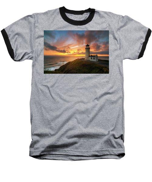 North Head Dreaming Baseball T-Shirt by Ryan Manuel