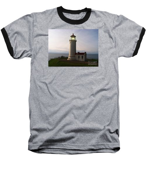 North Head Light Baseball T-Shirt