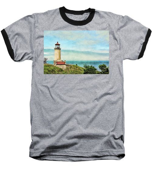 North Head Lighthouse Baseball T-Shirt