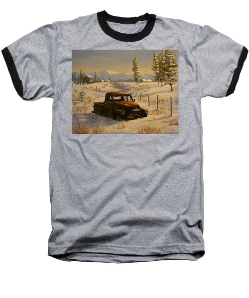 North Idaho Yard Art Baseball T-Shirt