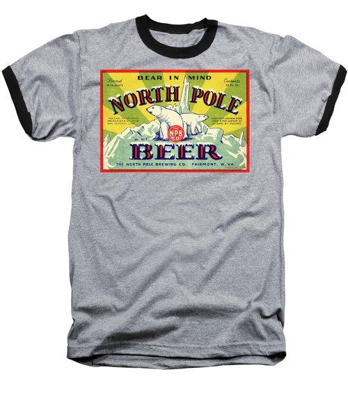 North Pole Beer Baseball T-Shirt