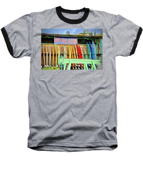 North Shore Surf Shop 1 Baseball T-Shirt