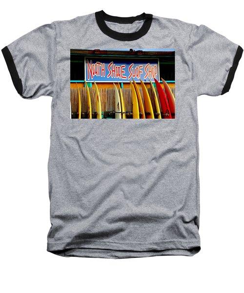 North Shore Surf Shop 2 Baseball T-Shirt