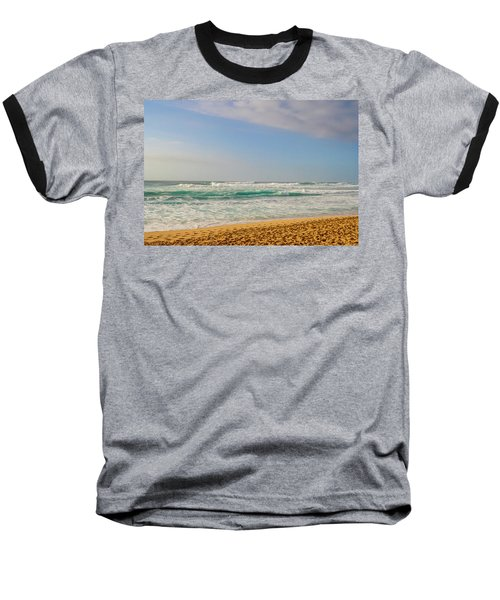 North Shore Waves In The Late Afternoon Sun Baseball T-Shirt