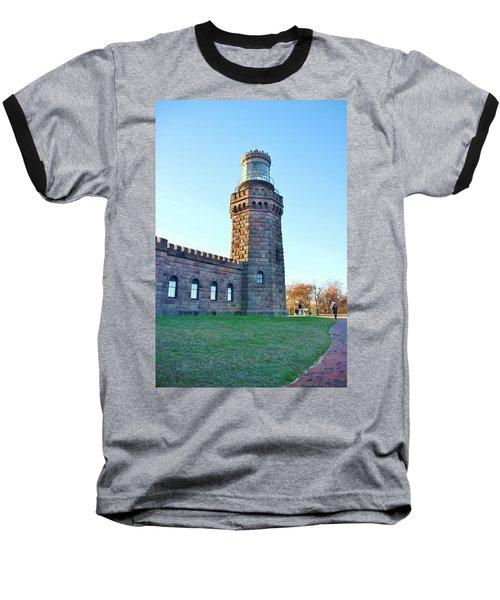 North Tower Twin Lights Baseball T-Shirt