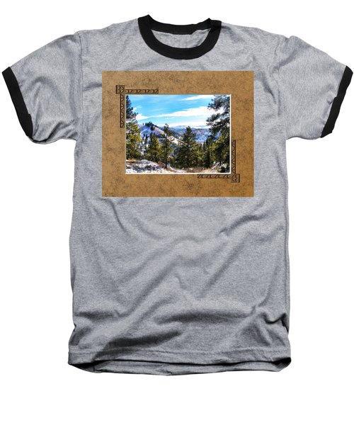 Baseball T-Shirt featuring the photograph North View by Susan Kinney