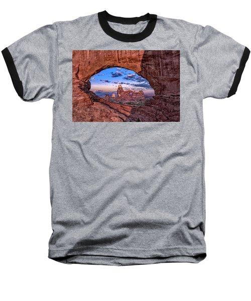 North Window At Sunrise Baseball T-Shirt