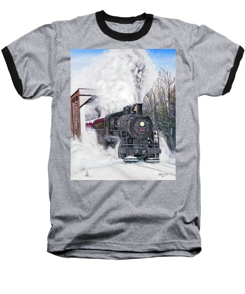 Northbound At 35 Below Baseball T-Shirt
