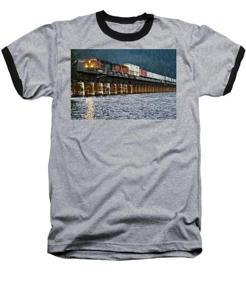 Northbound At Dusk Baseball T-Shirt