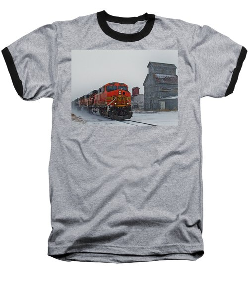 Northbound Winter Coal Drag Baseball T-Shirt