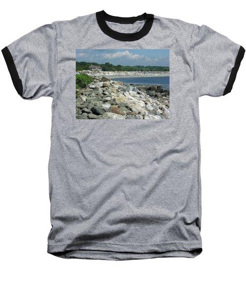 Northeast Us, Atlantic Coast, Rye Nh Baseball T-Shirt by Betty Denise